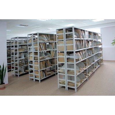 Выбираем архивный металлический стеллаж