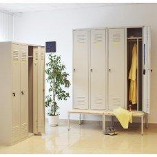 Металлическая мебель для гардероба