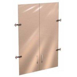 """Двери стеклянные 3 секции """"Рубин"""" 700х1110"""