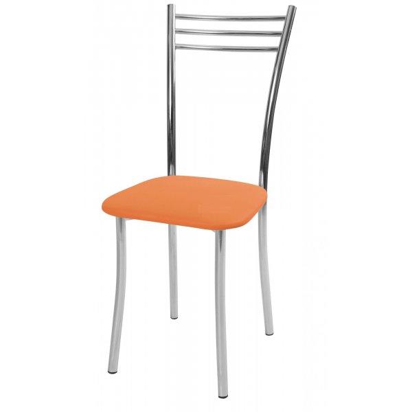 Стул обеденный Трио стандарт 2 (Оранжевый матовый)