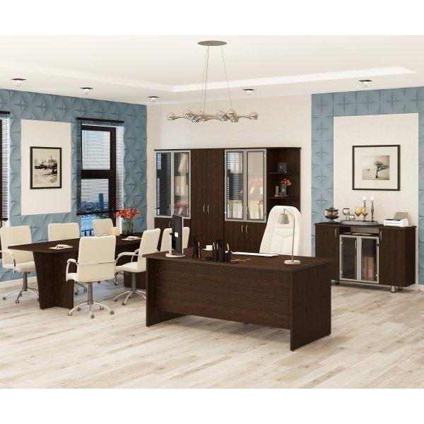 Набор мебели для офиса Лидер-Престиж 2