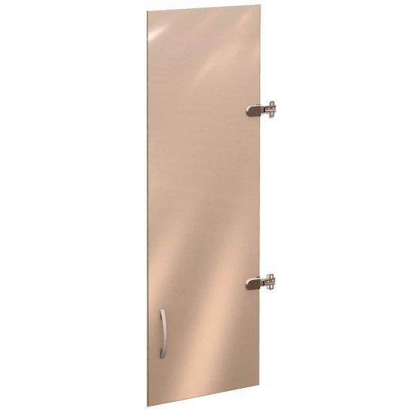 41.81 Дверь стеклянная 3 секции лев/прав Рубин