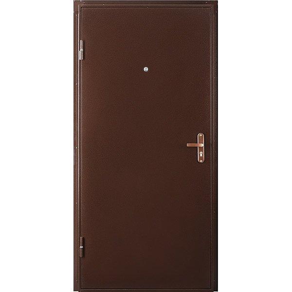 Металлическая дверь Профи IS (2050х850 мм) толщина 66 мм, цвет: Медный антик