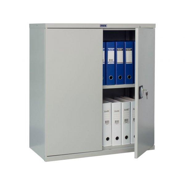 Шкаф металлический офис ПРАКТИК СВ-11