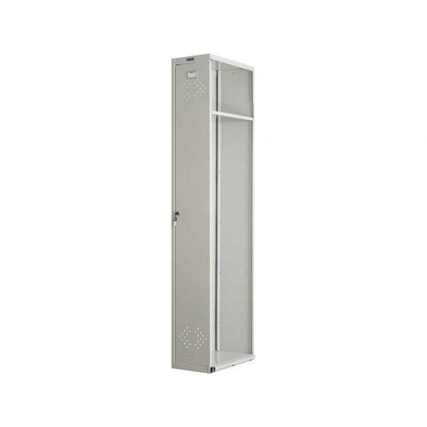 Шкаф металлический для одежды ПРАКТИК LS-001 (ПРИСТАВНАЯ СЕКЦИЯ)