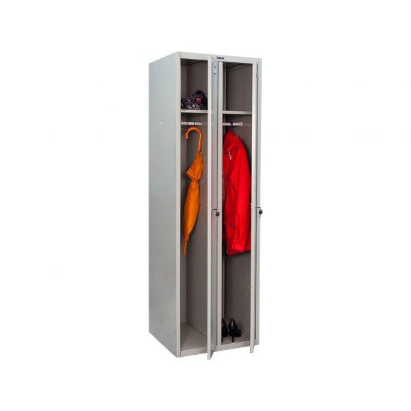 Шкаф металлический для одежды ПРАКТИК LS 21-60
