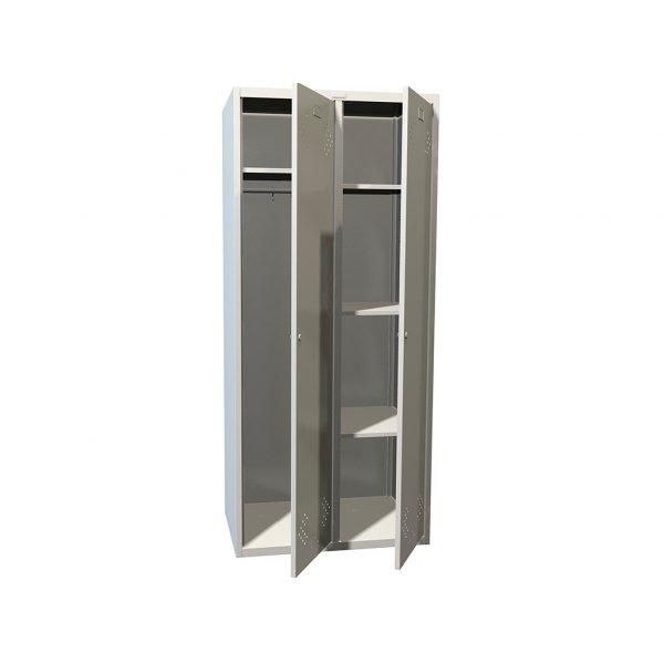 Шкаф металлический для одежды ПРАКТИК LS-21 U