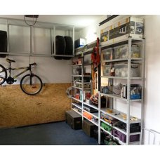 Выбираем металлический стеллаж в гараж
