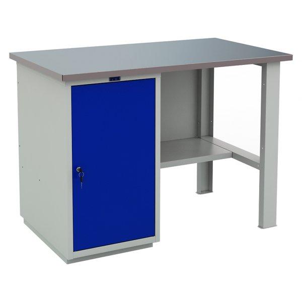 Легкий металлический верстак PROFI (№201) (ВхШхГ: 870x1200x700мм)