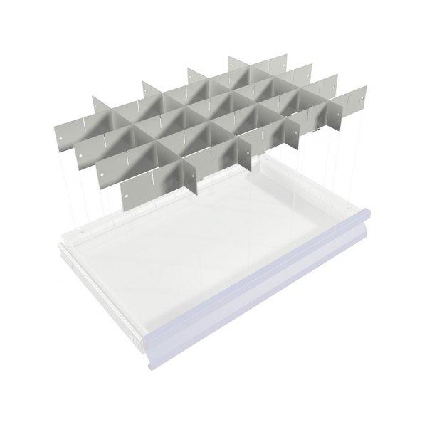 Комплект перегородок WDS для подкатной инструментальной тележки