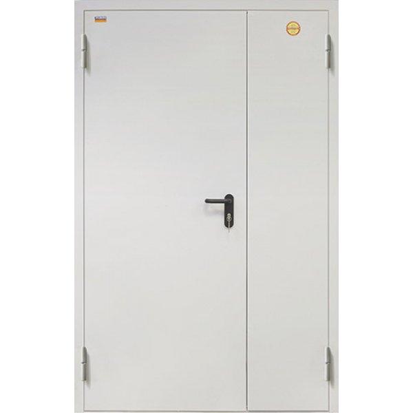 Металлическая дверь противопожарная ДП-2 (2050х1250 мм) толщина 98 мм