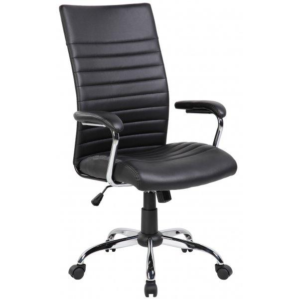 Офисное кресло Riva Chair 8234 экокожа, металлический каркас
